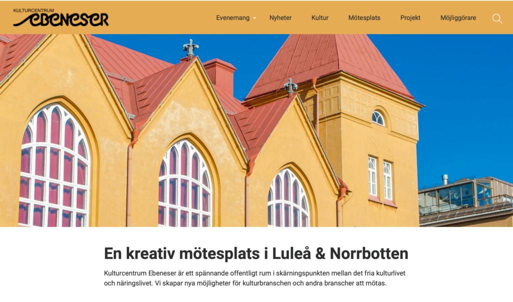 Välkomna till vår nya hemsida!
